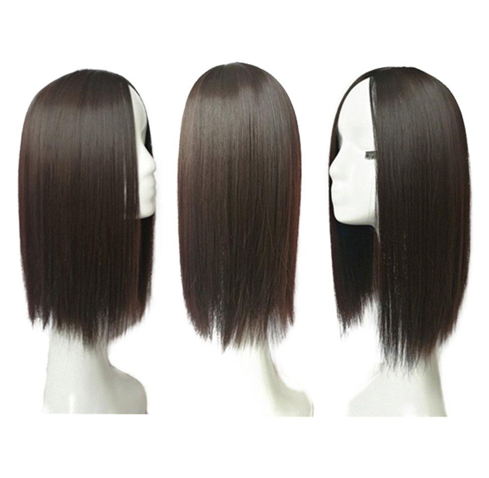 Amazon 14 Middle Part Hair Crown Topper Clip Toupee For Women