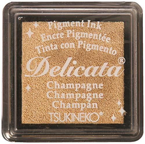 Tsukineko, Delicata, Small Ink Pad, Champagne