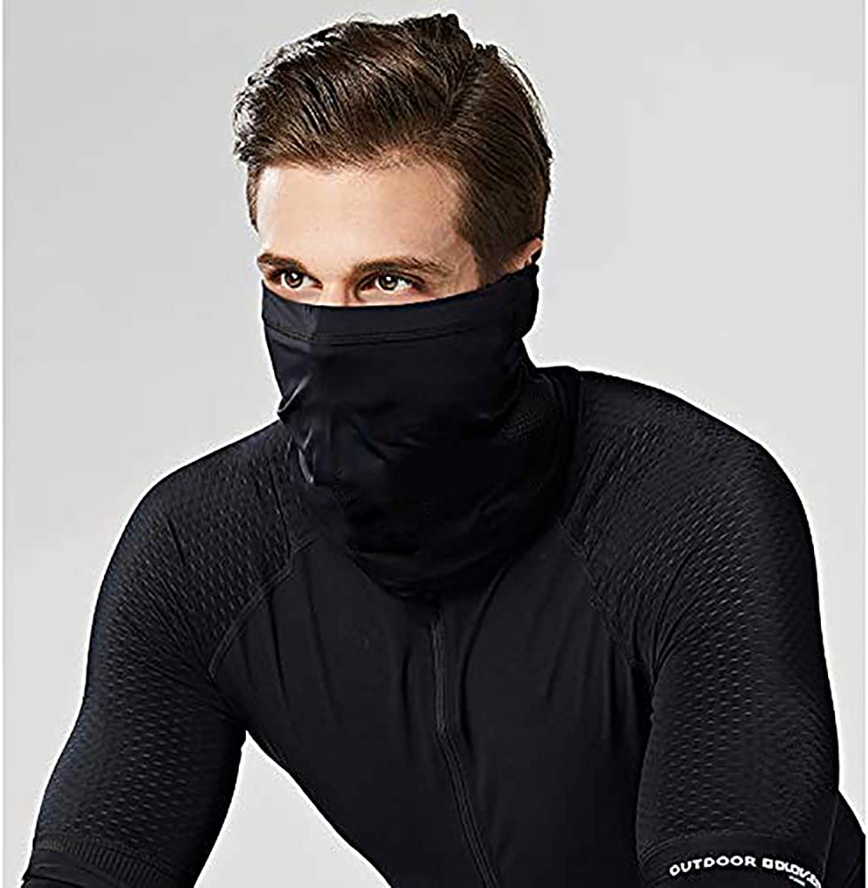 Cool Unisex Sunscreen Neck Gaiter Mouth Scarf Cycling Face Cover