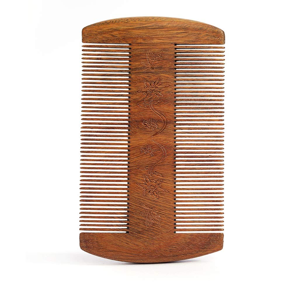 Handmade comb, comb anti static comb Wooden Hair Combs - No Static Fine Tooth Detangling Wooden Tail Comb, Natural Handmade Wooden Comb,for Women And Men (Color : A) by MARYYUN