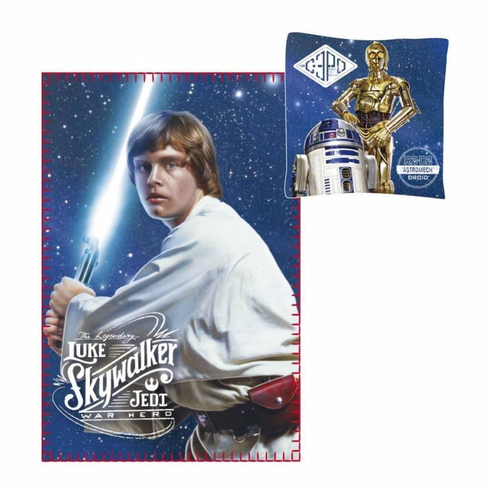 Cerdá Jungen Nierenwärmer Star Wars, Blau (Azul 38), One Size (Herstellergröße: Única) 2200002426