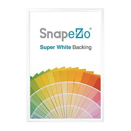 Amazon.com - SnapeZo Poster Frame 24x32 Inches, White 1.2\