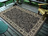 Furnish my Place DESIGN0946 CHARCOAL 4'5 X 7′ 4'5″ X7′ Area Rugs For Sale