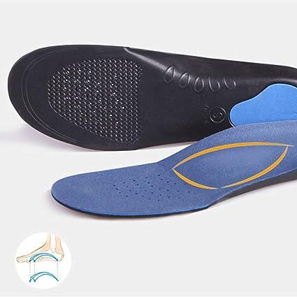 Plantilla ortopédica Pie plano Pies Health Suela Pad Zapatos ...