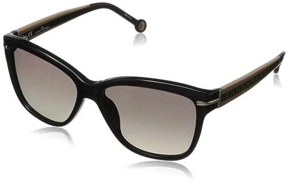 779a919ca9 Amazon.com  Carolina Herrera Women s SHE575-700 Wayfarer Sunglasses ...
