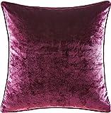 Poetic Wanderlust Velvet Pillow by Tracy Porter