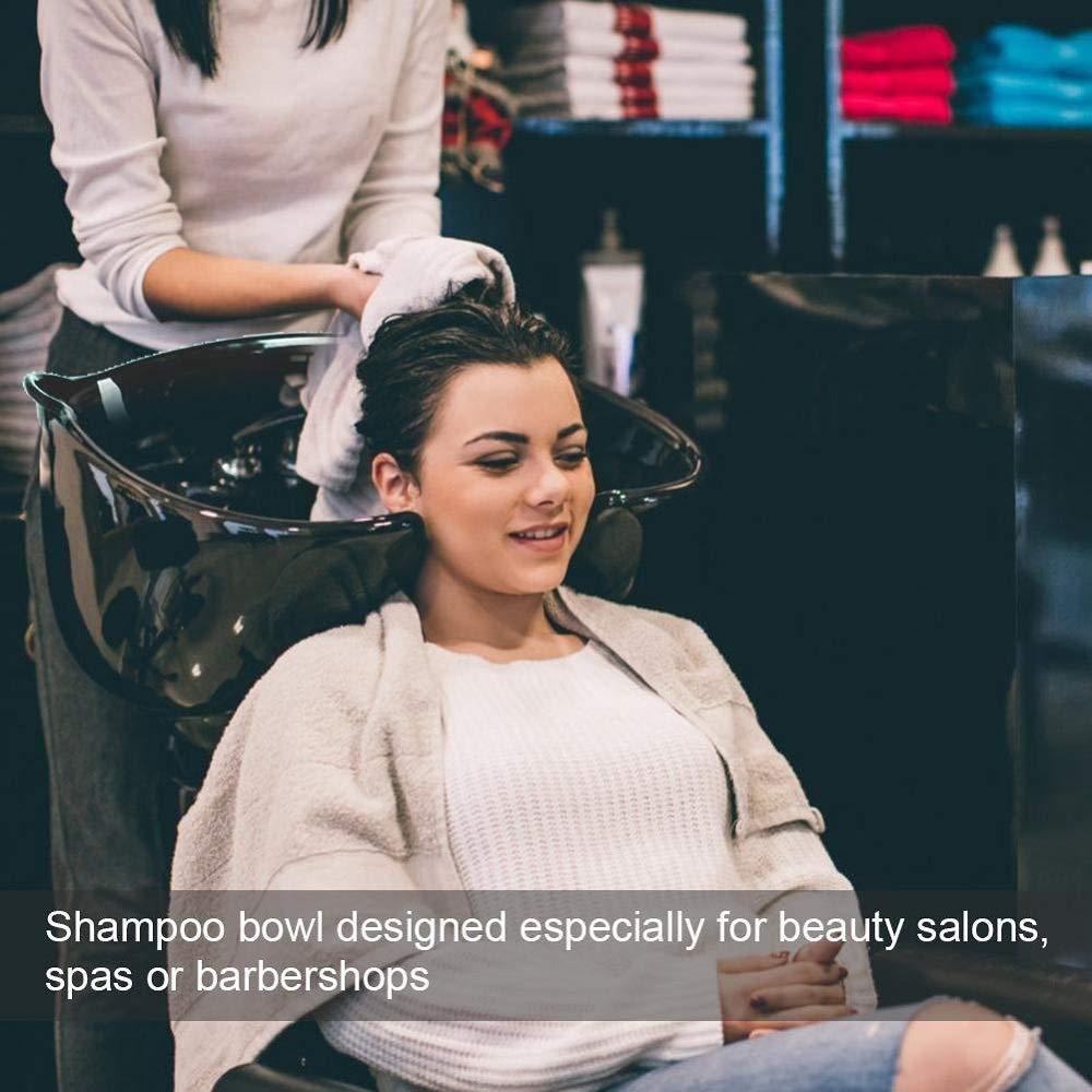 Saloniture Portable Salon Basin Shampoo Sink with Drain by YIN QM (Image #3)