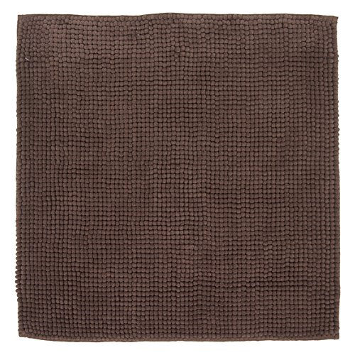 DIFFERNZ 31.102.86 Candore Bath Mat, Brown by Differnz