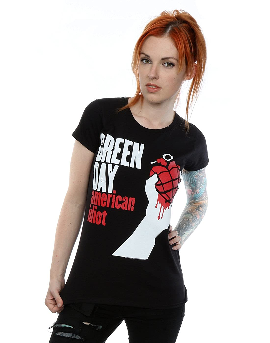 Green Day mujer American Idiot Camiseta