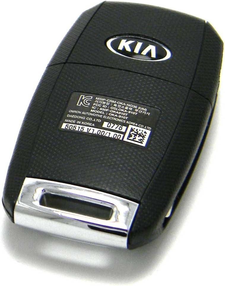 FCC ID: OSLOKA-910T OEM Kia Sorento Flip Key Keyless Entry Remote Fob