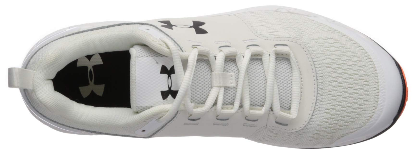 Under Armour Men's Commit TR EX Sneaker, Onyx White (108)/Black, 7 M US by Under Armour (Image #7)