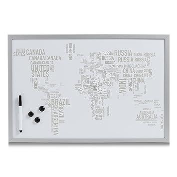 Zeller 11572 magnético/Pizarra de World Letters, magnética ...