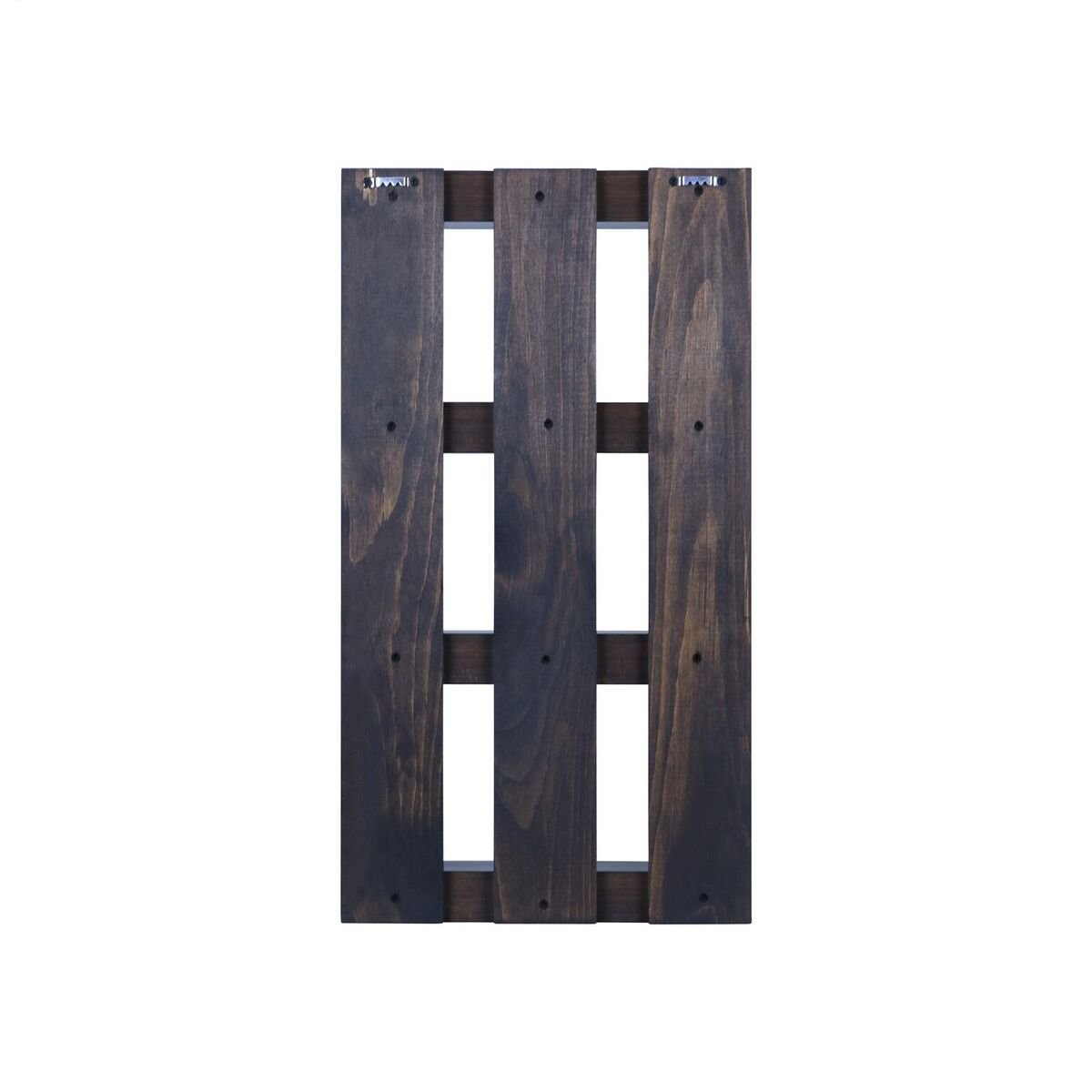 Solid Wood 4 tier Wall Mount Shelves Home Decor Decoration for Bathroom, Living Room, Kitchen and Entryway Made in the USA by Rooms Organized (Expresso, 22'' h x 15'' w x 4.25'' deep) by Rooms Organized (Image #3)