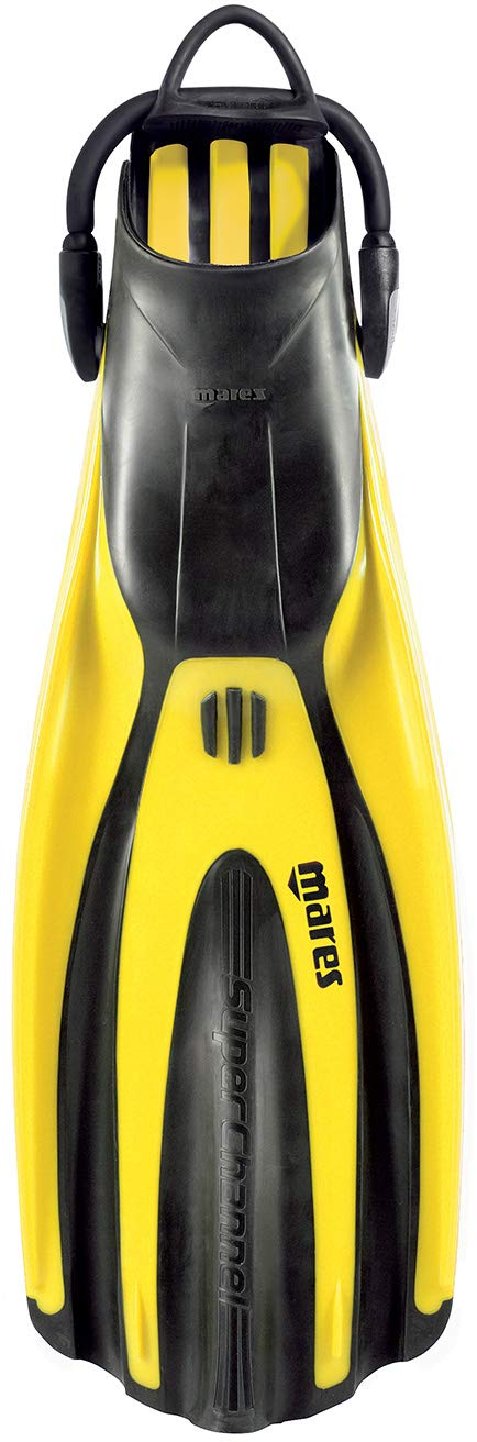 Mares Avanti Super-Channel Open Heel Fins - Yellow - X-Large