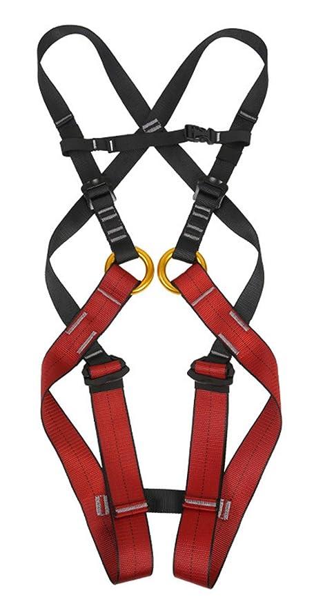 QMZDXH Arnés de Escalada Infantil Cintura,Equipo de Protección ...