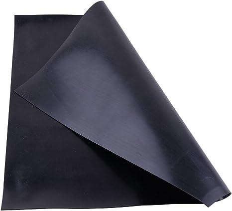 30cm x 30cm x 1mm Black Industrial Rubber Sheet High Temp Plate Mat High Quality