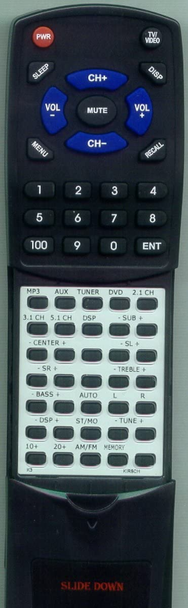 Replacement Remote Control for Kirsch K3 K10