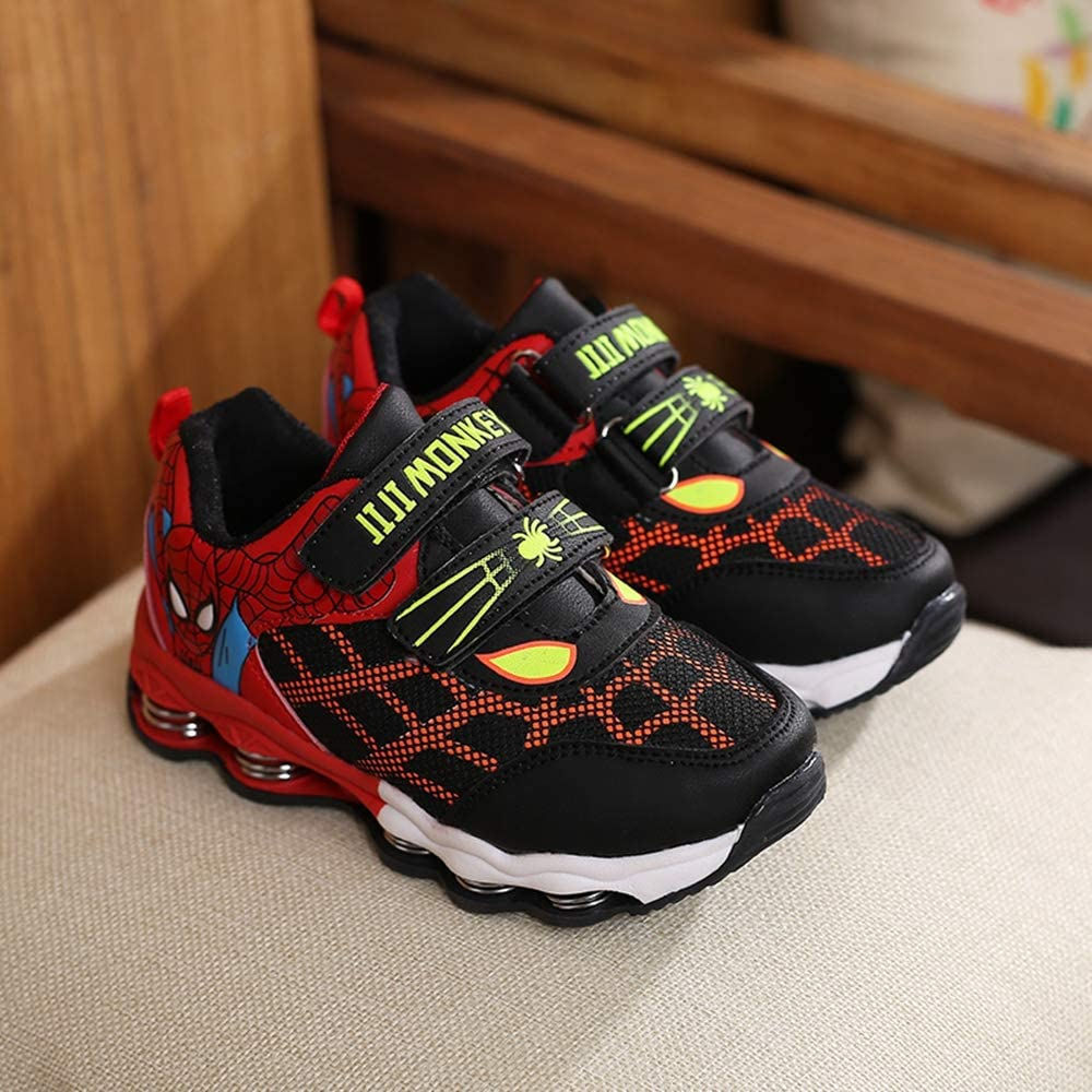 ANKIDS Spider-Man Boys Plus Velvet Warm Sneakers