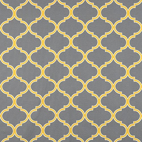 Yellow Gray Fabric by the Yard: Amazon.com