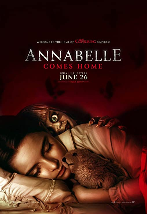 Lionbeen Annabelle Comes Home - Movie Poster - Cartel de la ...
