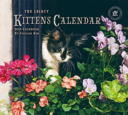 Legacy Publishing Group 2018 12-Month Wall Calendar, Kittens Calendar