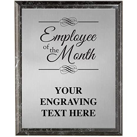 Amazon.com : Crown Awards Corporate Employee Recognition Plaques - 6 ...