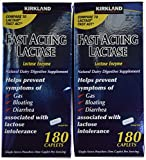 Lactaid Original Strength Lactase Enzyme Caplets, 120 Count