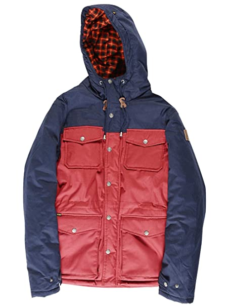 Element cicuta F2 chaqueta para hombre, hombre, rojo carmesí ...
