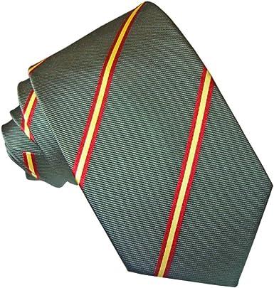 JOSVIL Corbata Seda Verde Bandera España: Amazon.es: Ropa y accesorios