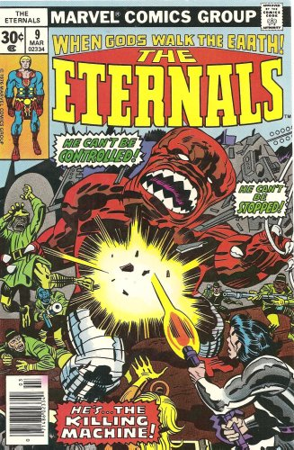 Eternals, The #9 (The Killing Machine!!)