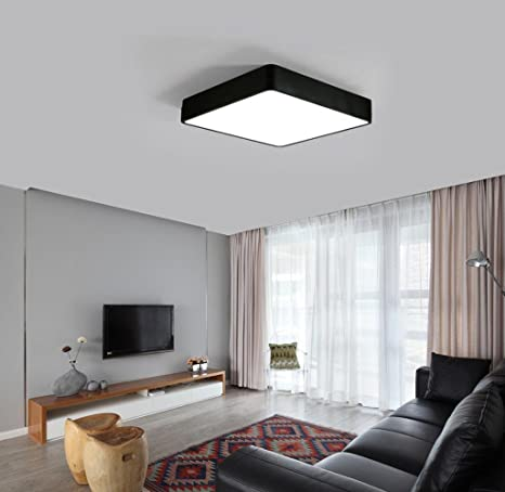 Diseño moderno espacio plafón minimalis Mesas Salón techo ...