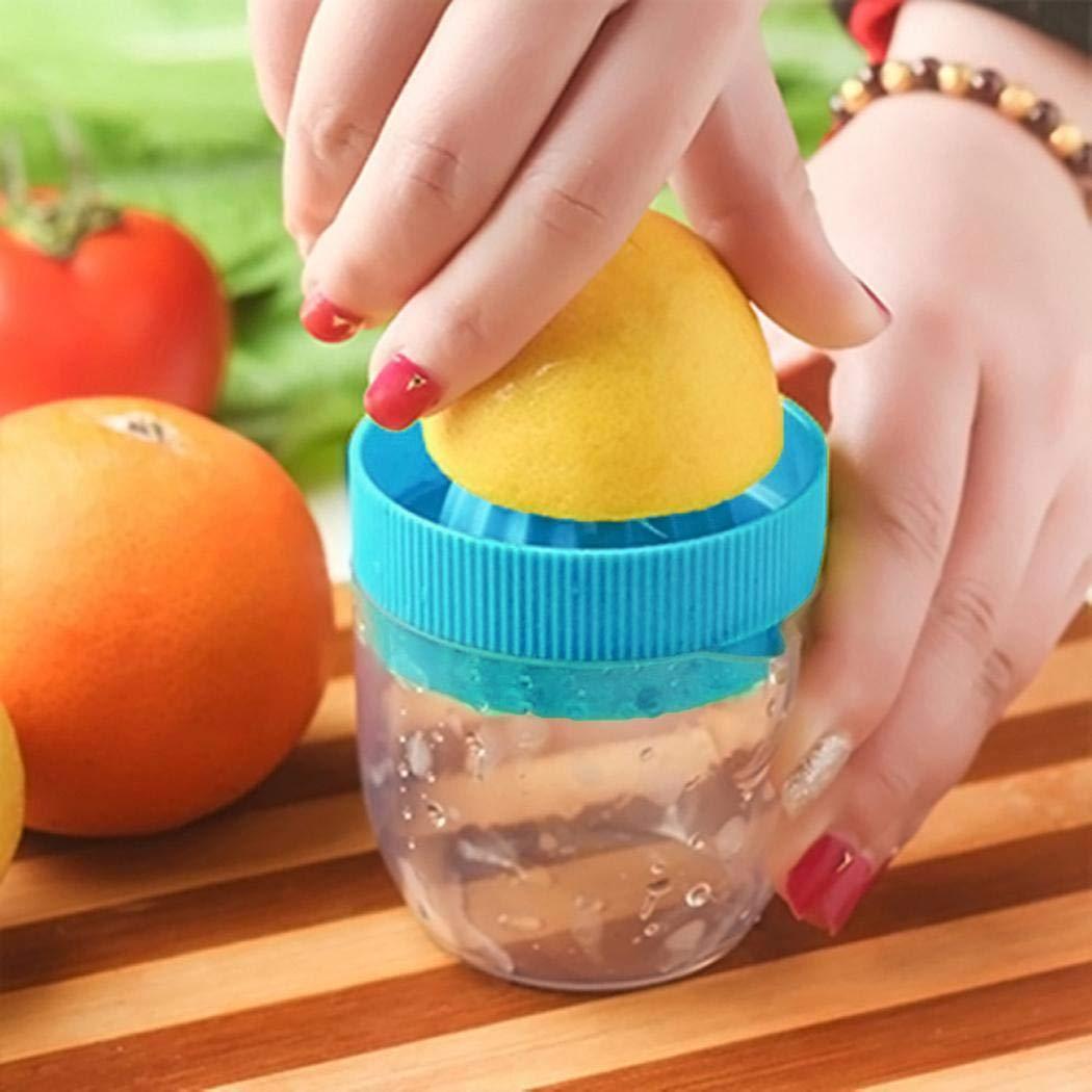 Gijoki Portable Mini Citrus Fruit Squeezer Manual Juicer Orange Juice Extractor Manual Juicers