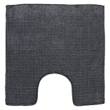 DIFFERNZ 31.220.03Candore Toilet Rug, Charcoal