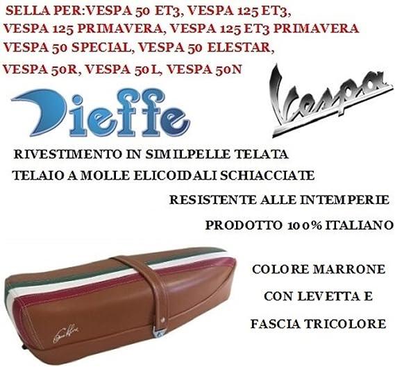 P0050 SELLA PER VESPA 50//125 ET3 C//SERRATURA