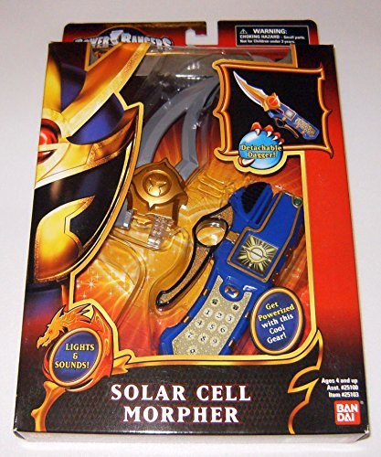 Solar Cell Morpher -  Power Rangers Mystic Force