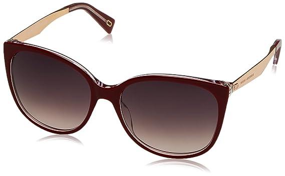 d86dfde738 Amazon.com  Marc Jacobs Women s Marc203s Cateye Sunglasses OPLE BURG ...