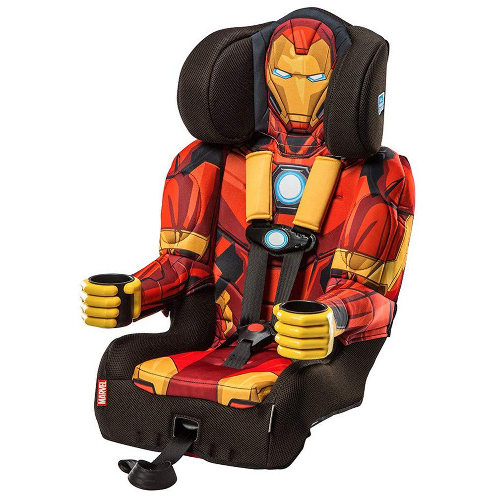 KidsEmbrace Black Panther Car Seat, Marvel Combination Booster Seat, 5 Point Harness Kids Embrace Baby 3001PAN