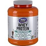 NOW Sports Whey Protein, Creamy Chocolate, 6-Pound