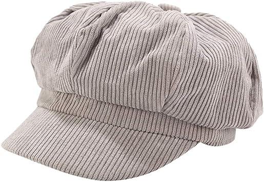 YanHoo - Sombrero clásico de Artista francés para Mujer, Estilo ...