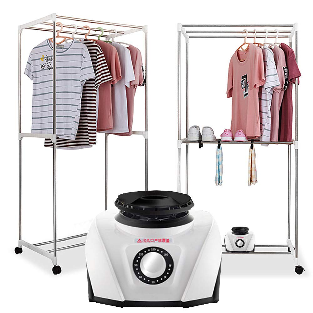 Highpot Electric Clothes Laundry Dryer Household Mini Mute Sterilizing Warm Air Clothes Dryer