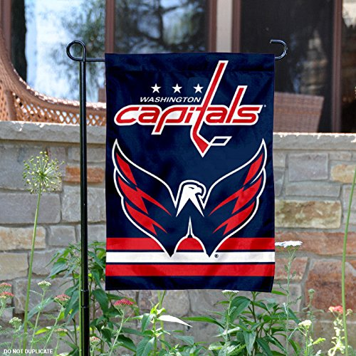 Washington Capitals Double Sided Garden Flag