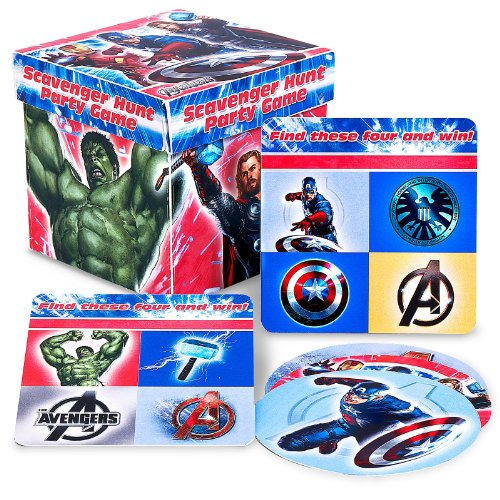 Hallmark - The Avengers Scavenger Hunt Party Game (Superhero Party Games compare prices)