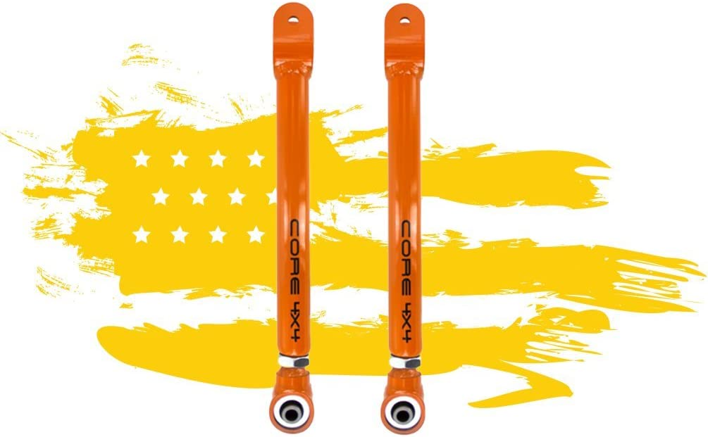 Wrangler JK 2007-Present Complete Adjustable Control Arm Set TIER THREE