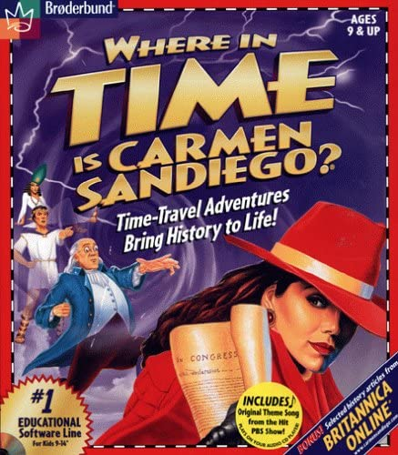 26+ Where In The Usa Is Carmen Sandiego 1999 Download  Background
