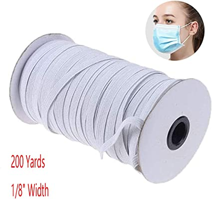 Amazon Com Elastic Bands For Sewing Face Masks Braided Elastic