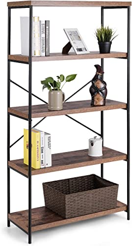 Cheap Tangkula 5-Tier Bookcase modern bookcase for sale