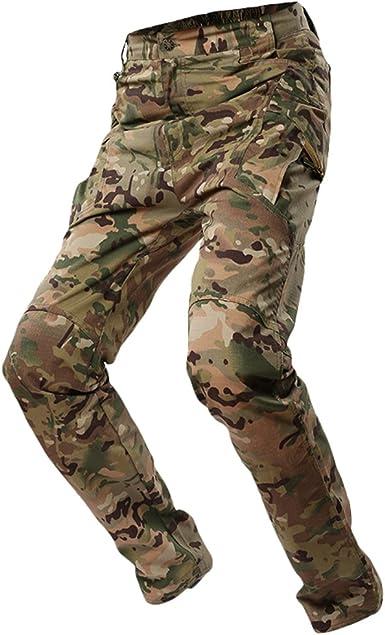 Homme Camouflage d/'hiver Militaire Armée Cargo Combat Pantalon Poche Stretch