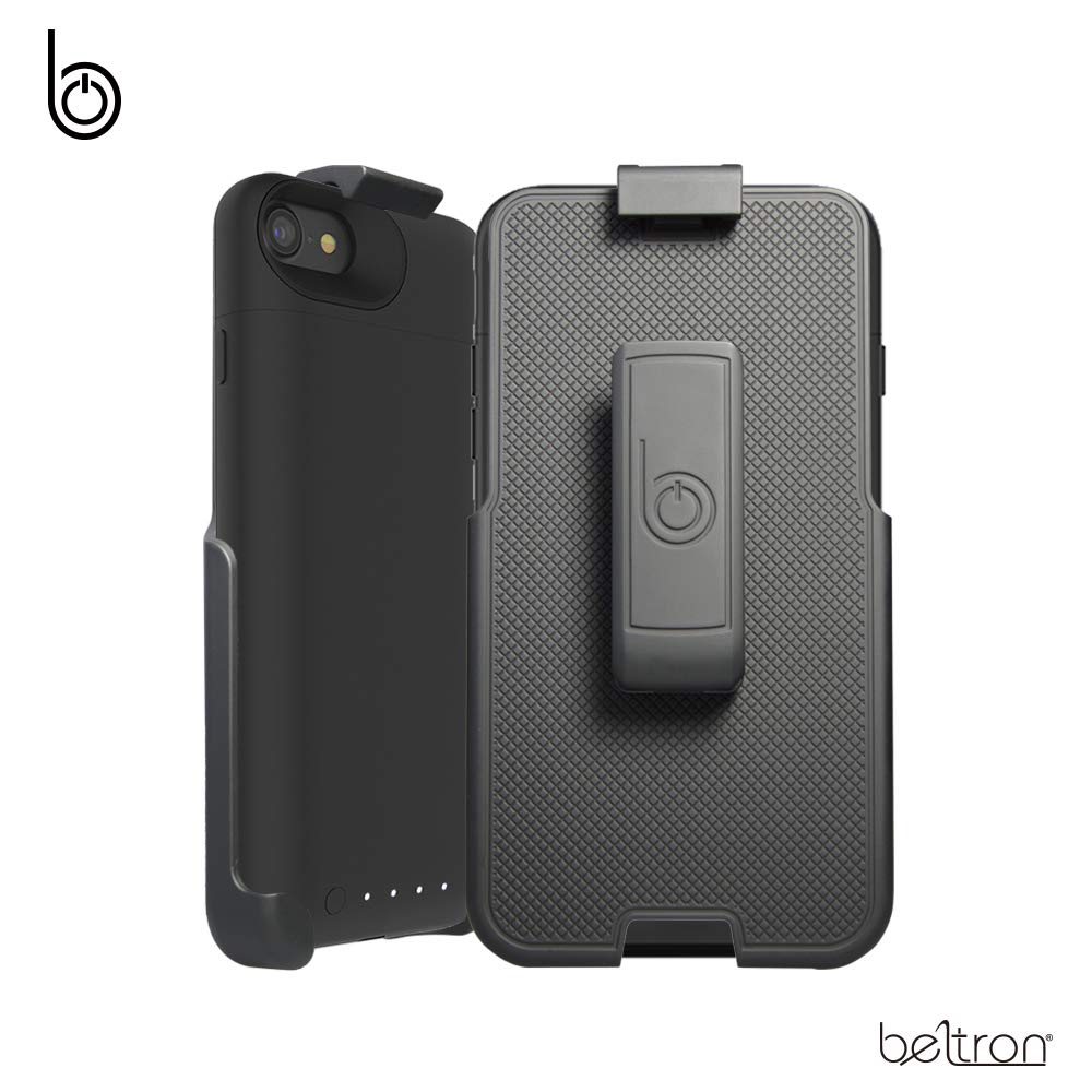 free shipping 55525 67160 Belt Clip Holster for Mophie Juice Pack Air Battery Case - iPhone 7 (4.7