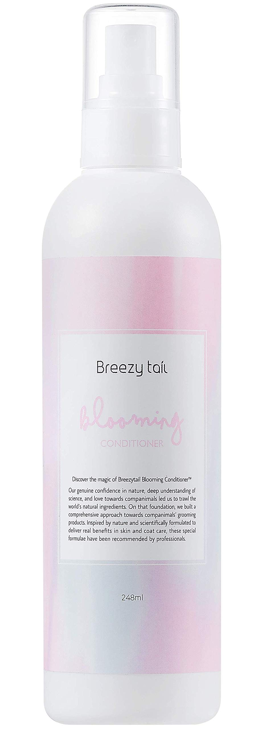 Breezytail Blooming Conditioner - Premium Natural Leave-in Conditioner for Dog | Hypoallergenic Skin & Coat Care | Natural Pearl Shine