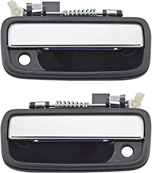 Chrome Black 769MX Door Handle 95-04 for TOYOTA TACOMA Right Front Passenger